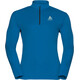 Odlo Sliq Midlayer 1/2 Zip Men mykonos blue/black